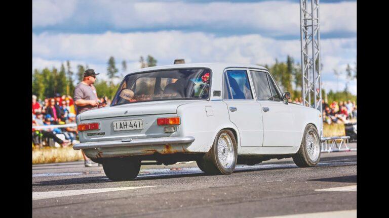 Jani Kuittinen (Lada 1200L & Chevrolet Nova)